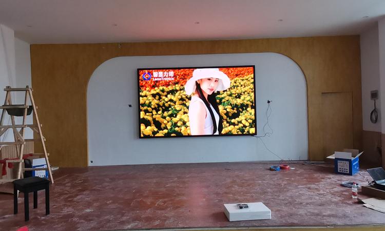 工程案例|智显力诺某幼儿园led显示屏项目成功点亮并交付